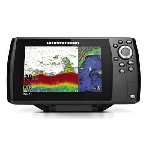 Horgász csónak Sonar Humminbird Helix 7X CHIRP DS GPS G3N