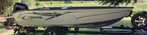Rybársky čln Finval 475 Evo Tiller