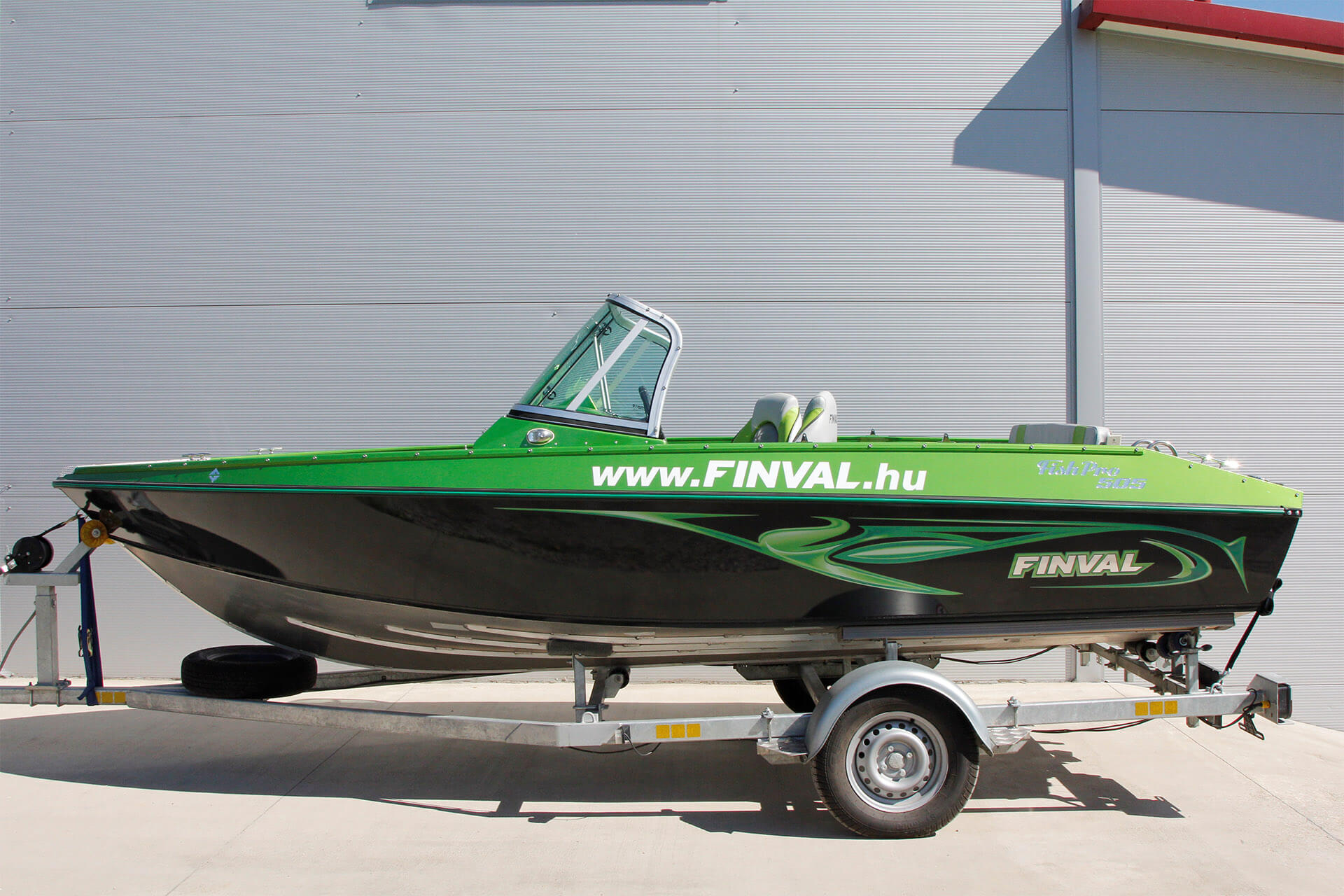 Referencia Finval FishPro 505 CB+, Mosonmagyarovar